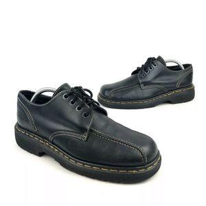 DM's Dr. Martens Black Leather Oxford Shoes